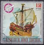 Sellos de Africa - Guinea Ecuatorial -  barcos históricos