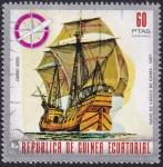 Stamps : Africa : Equatorial_Guinea :  barcos históricos
