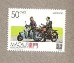 Sellos del Mundo : Asia : Macao : Medios transporte