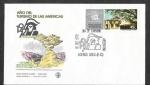 Sellos de America - Argentina -  985 - SPD Año del Turismo de las Américas