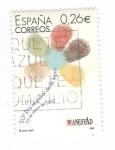 Sellos del Mundo : Europa : España : 50 Dia mundial de la lepra(intercambio)