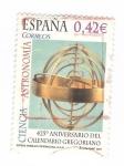 Sellos del Mundo : Europa : España : Edifil 4311.425 aniversario del calendario Gregoriano(intercambio)