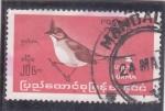 Sellos del Mundo : Europa : Myanmar :  ave