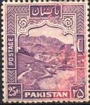 Sellos de Asia - Pakistán -  PASAJE  KHYBER