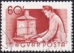 Stamps Hungary -  cartero