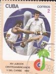 Stamps Cuba -  XIV JUEGOS CENTROAMERICANOS Y DEL CARIBE