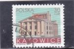 Stamps Poland -  TEATRO DE KATOWICE