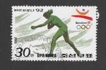 Sellos de Asia - Corea del norte -  J.O. Barcelona 92