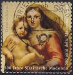 Sellos de Europa - Alemania -  La Madonna de la Sistina