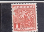 Stamps Andorra -  FLORES- edelweis