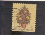Stamps Belgium -  ARBOL DE NAVIDAD