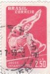 Stamps Brazil -  JUEGOS