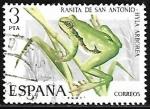 Sellos de Europa - España -  Fauna hispanica - Ranita de San Antonio