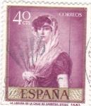 Sellos del Mundo : Europa : España : LA LIBRERA DE LA CALLE DE CARRETAS (Goya)(42)