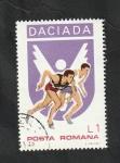 Stamps Romania -  3128 - Atletismo