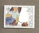 Stamps Asia - Macau -  40 Aniversario de la OMS