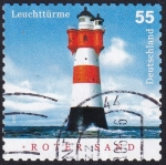 Stamps : Europe : Germany :  Faro Roter Sand
