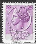 Stamps Italy -  630 - Moneda de Siracusa