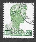 Stamps Italy -  690 - Escultura de San Jorge