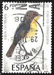 Stamps : Europe : Spain :  Aves - Curruca Carrasqueña