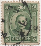 Stamps : Asia : China :  Y & T Nº 223a Imperio
