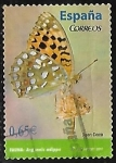 Stamps : Europe : Spain :  Fauna - Argynnis adippe)