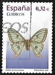 Stamps Europe - Spain -  Fauna - Graellsia isabellae