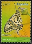 Stamps Europe - Spain -  Fauna - Papilio machaon