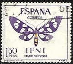 Stamps Europe - Spain -  Fauna - Syntomis alicia