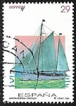 Stamps Europe - Spain -  Barcos de Época - Saltillo