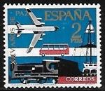 Stamps Europe - Spain -   XXV Años de Paz en España