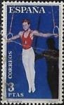 Stamps Europe - Spain -  Deportes - Gimnasia