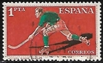 Stamps Europe - Spain -  Deportes - Hockey sobre patines
