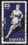 Stamps Europe - Spain -  Deportes - Atletismo