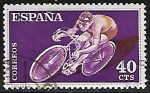 Stamps Europe - Spain -  Deportes - Ciclismo