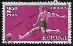 Stamps Europe - Spain -  Deportes - Fútbol