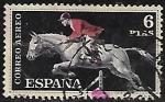 Stamps Europe - Spain -  Deportes - Salto de Caballo