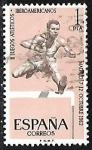 Stamps Europe - Spain -  Juegos atléticos latinoamericanos - Atletismo