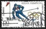 Stamps Europe - Spain -  Juegos Olímpicos de Invierno - Grenoble 1968- Esqui