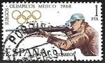 Stamps Europe - Spain -  Juegos Olímpicos de Mexico 1968 - Tiro