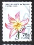 Sellos de Africa - Benin -  Flores