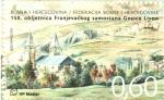 Stamps Europe - Bosnia Herzegovina -  150th  ANIVERSARIO  DEL  MONASTERIO  FRANCISCANO  DE  GORICA  LIVNO