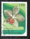 Stamps Africa - Benin -  Orquídeas