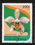 Stamps Benin -  Orquídeas