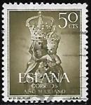 Stamps : Europe : Spain :  Nª Sra. del Pilar