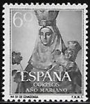Stamps : Europe : Spain :  Nª Sra. de Covadonga