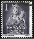 Stamps : Europe : Spain :  Nª Sra de Almudena