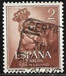 Stamps : Europe : Spain :  Nª Sra de África
