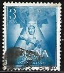 Stamps : Europe : Spain :  Nª Sra. de Guadalupe
