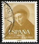 Stamps : Europe : Spain :  Canonization of Vicente Ferrer
